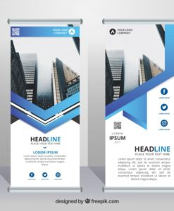 pvc roll up banners