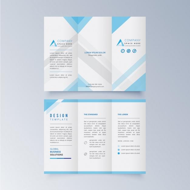 custom bi fold brochures