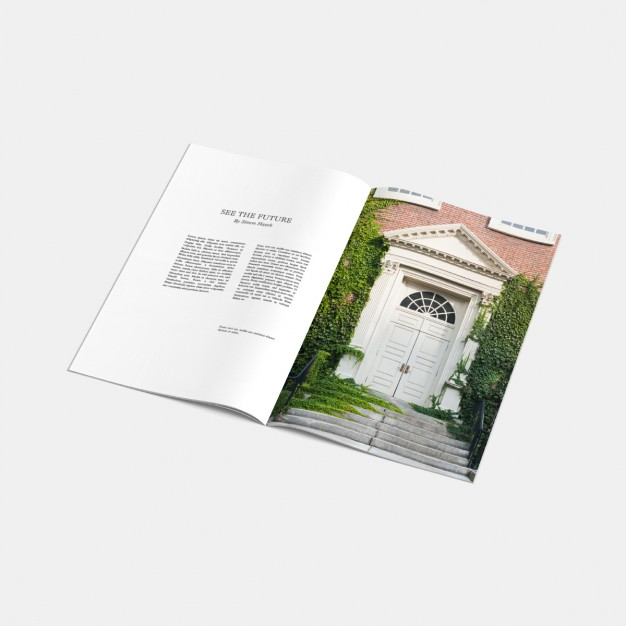 custom printed magazine