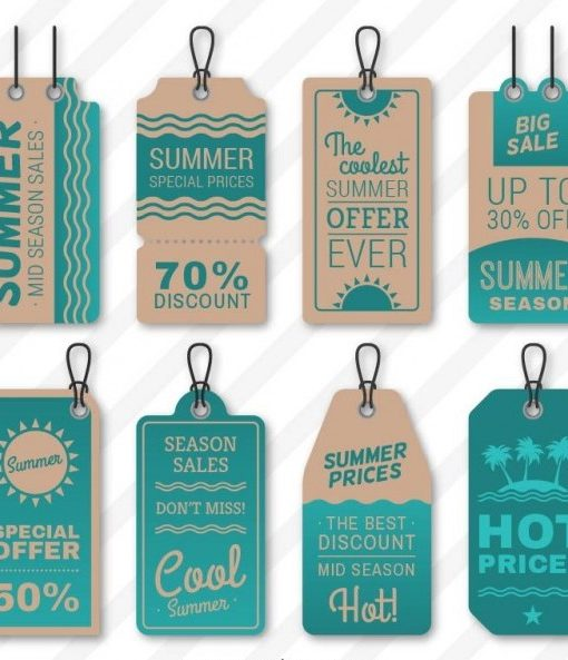 cheap printed hang tags