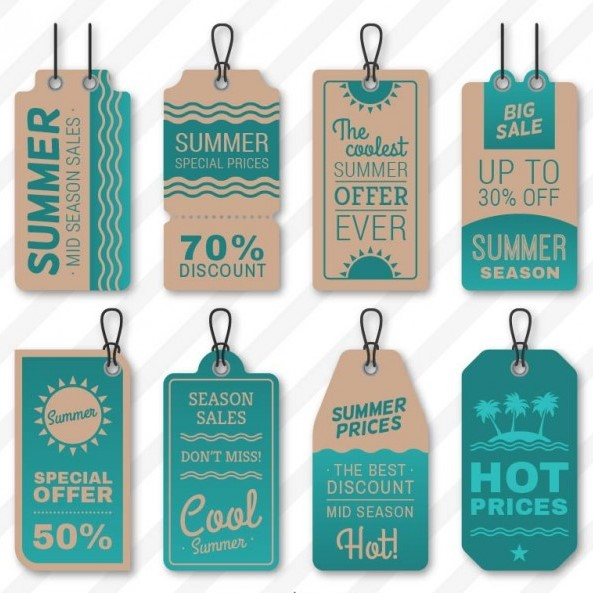 cheap printed hang tags